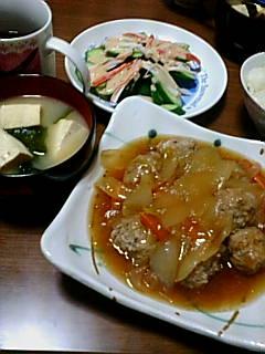 肉団子のあんかけ記念日